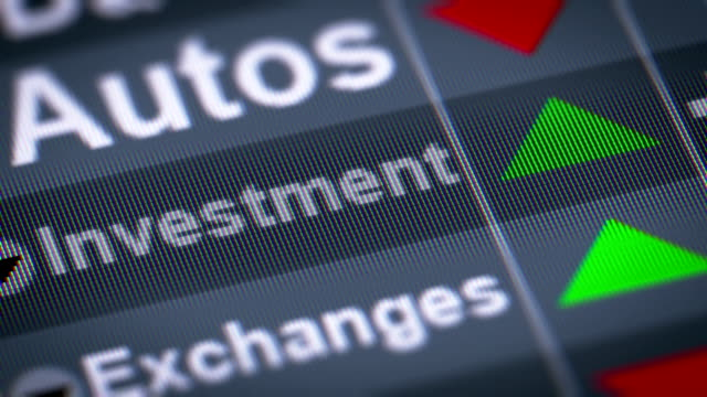 The Index of Investment on The Screen. video