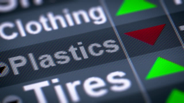 The Index of Plastics on The Screen. video