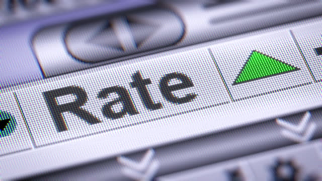The Index of Rate on The Screen. video