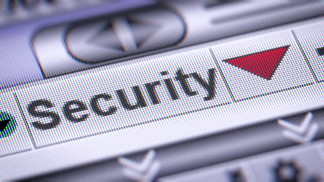 The Index of Security on The Screen. video