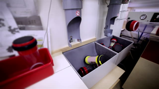 The insertion of air tube containers video