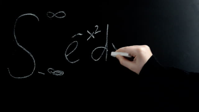 The integral is Gaussian (also known as Euler-Poisson's integral). video