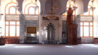 The interior Great Mosque in Sharm el-Sheikh video