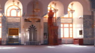 The interior Mosque in Sharm el-Sheikh video