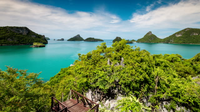 The islands, National Angthong Marine Park, Thailand video