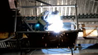 The job of a welder at altitude video