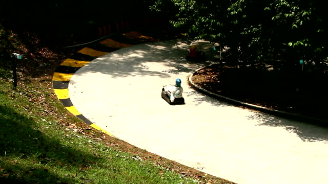 The Kart Car Sport and Relaxation. video
