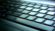 The keyboard and touch pad video