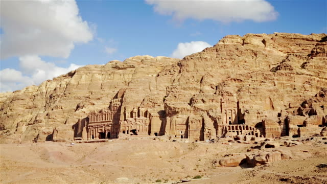 The Kings Wall, Tombs of Petra video