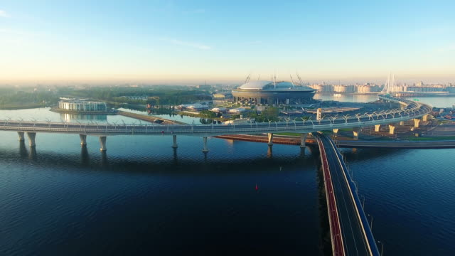 The Krestovsky Stadium, also called Zenit Arena, is a football stadium in the western portion of Krestovsky Island in Saint Petersburg, Russia video