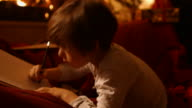 The little boy writes a letter to Santa video