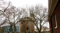 The look inside the gate of the Tower of London video