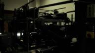 The mechanism bowling inside video