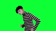 The mime boy suspects something video