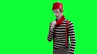 The mime feels stuffy and hot video