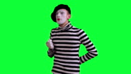 The mime is frightened of something video
