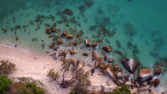 AERIAL: The nature of Australia, the Fitzroy Island beach video