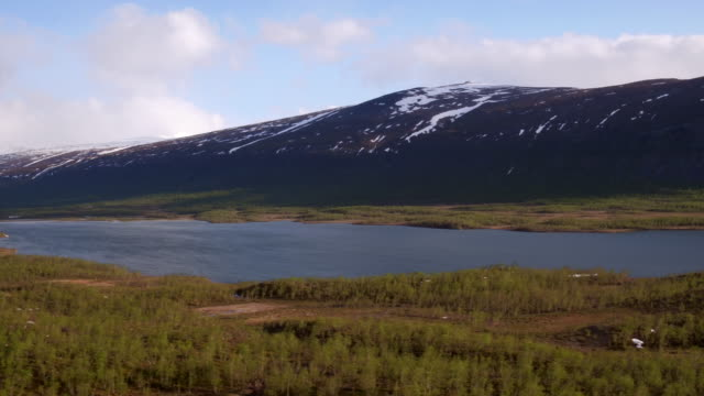 AERIAL: The nature of northern Sweden video