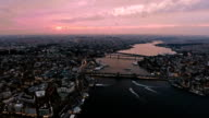 The New Istanbul Skyline Aerial Video video