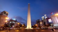 The Obelisk, Buenos Aires, Argentina video