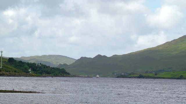 The ocean and the mountain in Sligo Ireland video