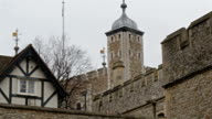 The old Tower of London. video