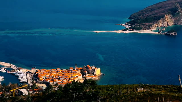 The Old Town of Budva video