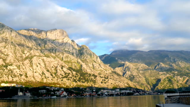 The Old Town of Kotor. City streets video