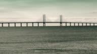 The Oresund bridge. video