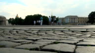 The palace square in st. Petersburg video