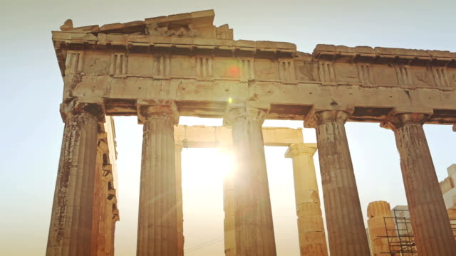 The Parthenon in Athens video
