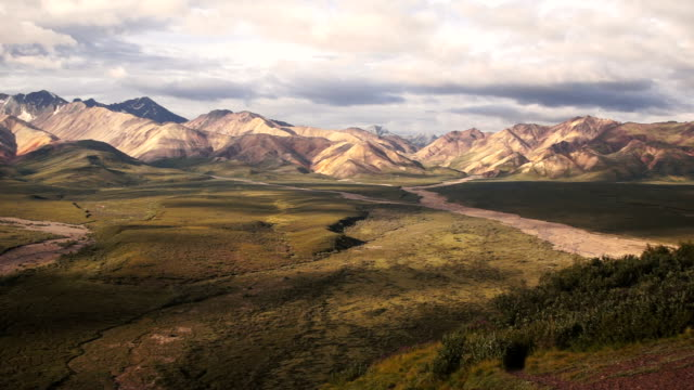 The Peaks and Valleys of Denali Alaska Territory video