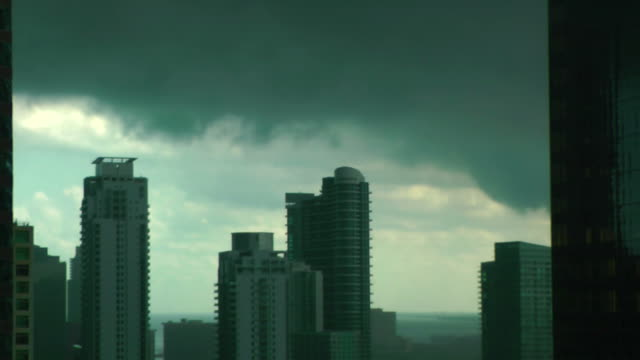 The perfect storm over Miami Financial District video
