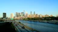 The Philadelphia skyline in Philadelphia, Pennsylvania. video