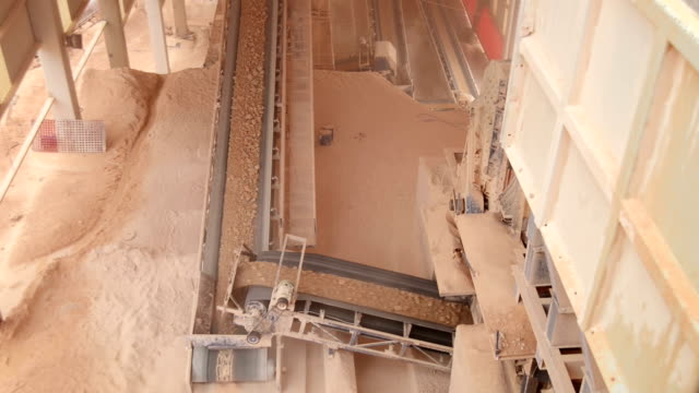 The Quarry, Surface Mine, stone crushing and transport video