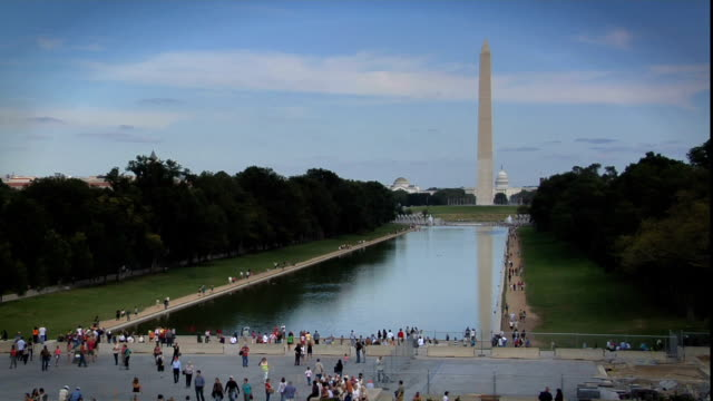 HD: The Reflecting Pool and Washington Monument video