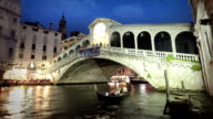 The Rialto Bridge, Venice, Italy video