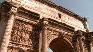The Roman Forum, Arch of Septimus Severus & Titus compilation, Rome video