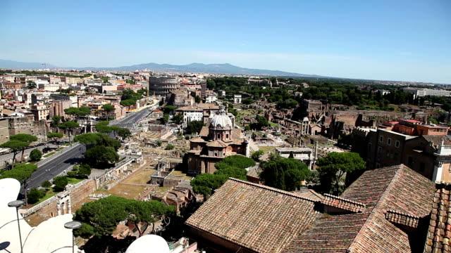 the Roman Forum Rome video