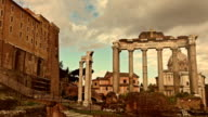 The Roman Forums in Rome video