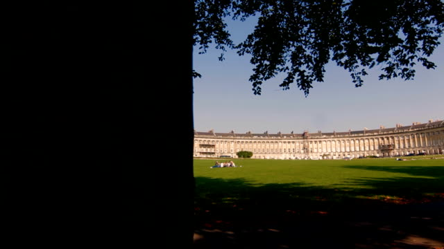 DOLLY: The Royal Crescent, Bath, UK video