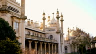 The Royal Pavilion with sunrise video