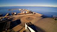 The seaplane harbor in Kopli Estonia video