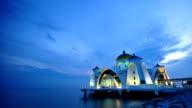The Selat Melaka Mosque, Malaysia video