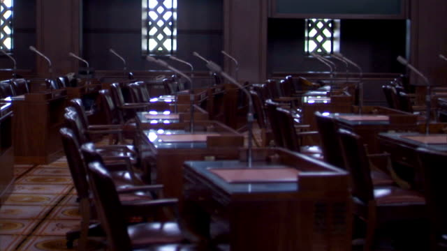 The Senate Floor Track Left HD video