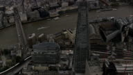 the Shard  - Aerial View - England, Greater London, Southwark, United Kingdom video