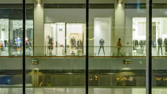4K TIME LAPSE (4096x2160) : The shopping mall and lifestyle in urban scene  (Apple ProRes 422(HQ) format). video