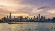 The Skyline of Chicago video