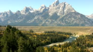 The Snake River Valley in Wyoming video