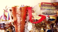 The sports cups video